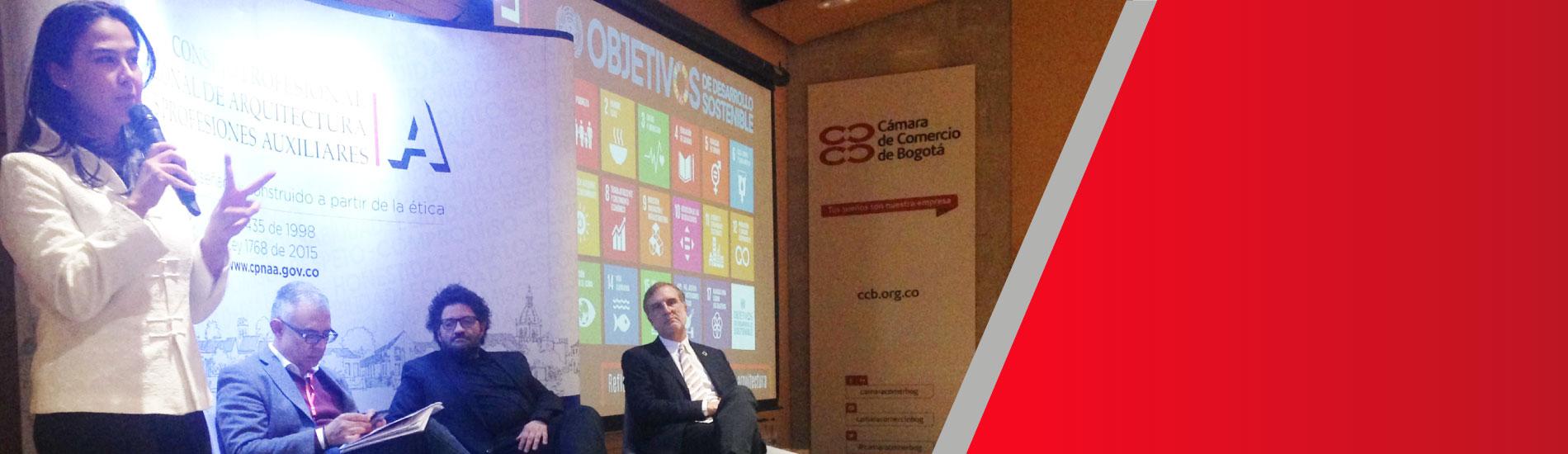 Docente UFPS participó como ponente del 3er Encuentro de responsabilidad social en la arquitectura