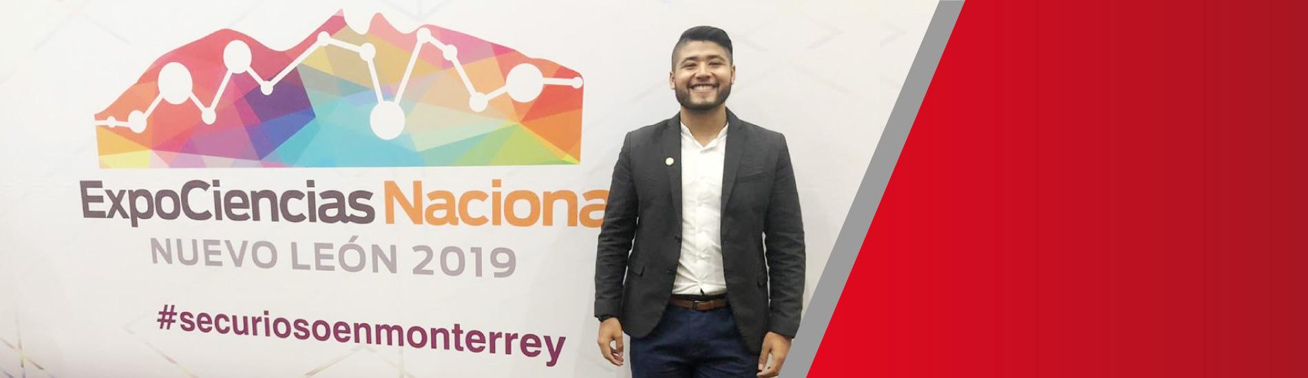 Estudiante de Comunicación Social UFPS fue ponente en ExpoCiencias México 2019