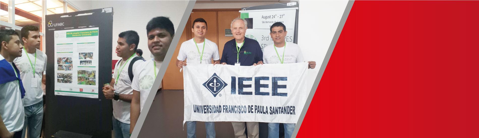 Estudiantes de Ingeniería Electrónica participaron de Congreso liderado por la IEEE en Brasil