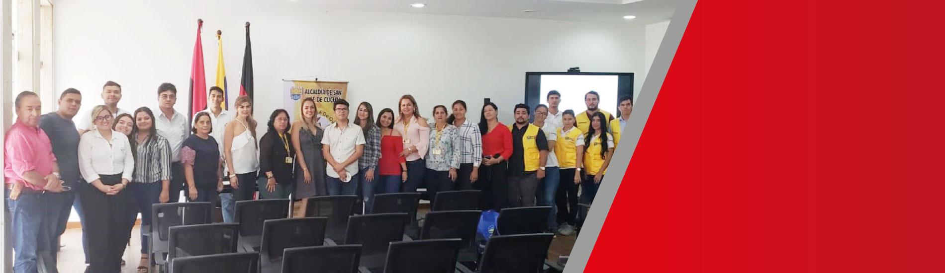 Docente y estudiantes UFPS participaron de proyecto de ordenamiento territorial liderado por la alcaldía de Cúcuta