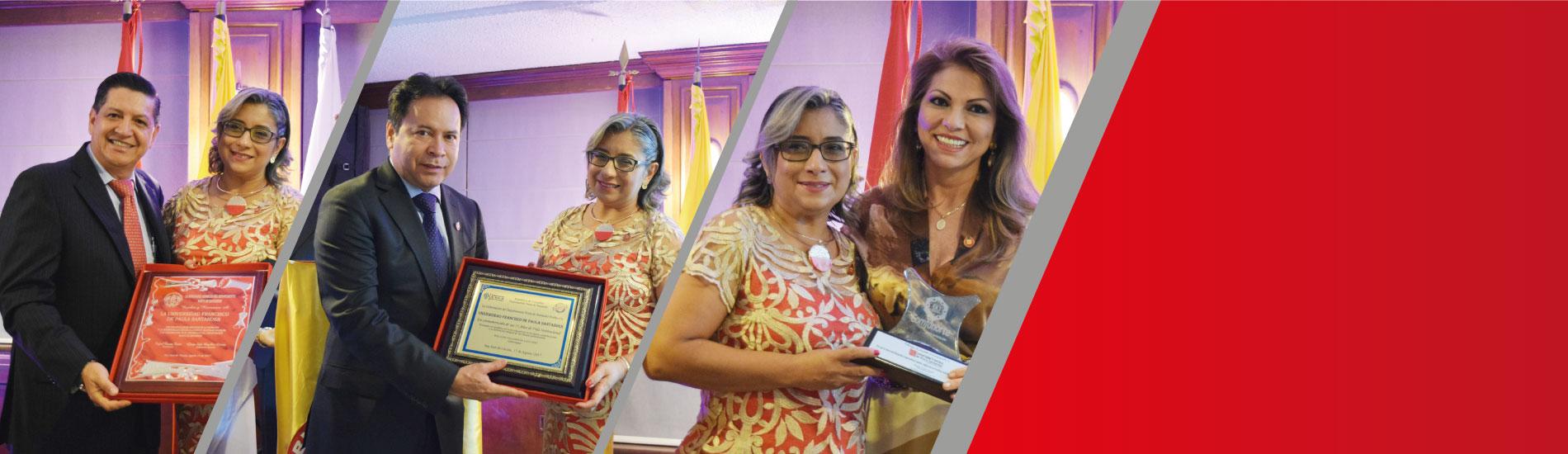 Cena de Gala y Reconocimientos en honor a los 55 años de la Universidad Francisco de Paula Santander