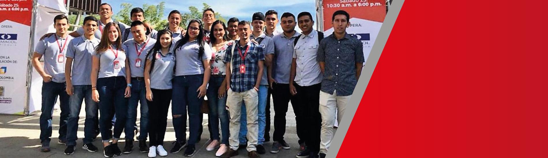 Estudiantes UFPS participaron de la feria ExpoCamacol 2018