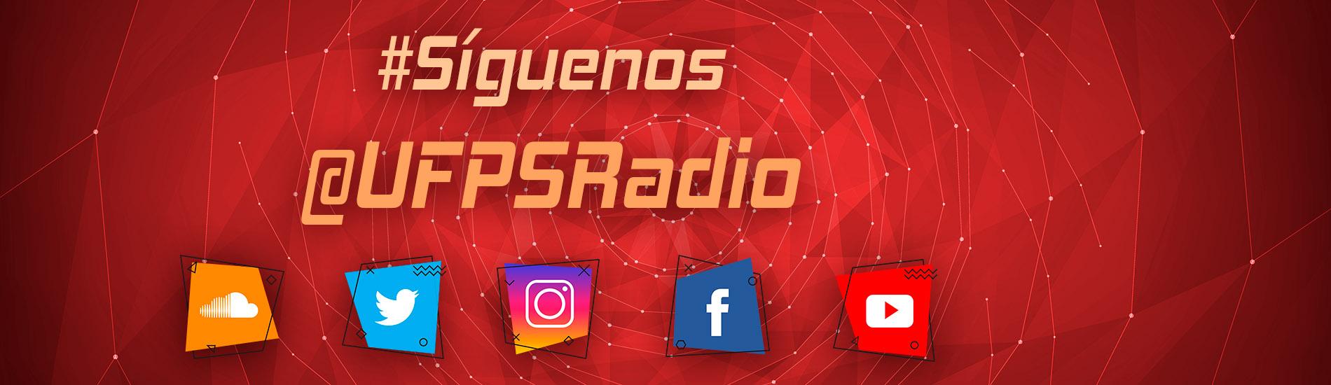 Disfruta de todo nuestro contenido en las redes sociales UFPS Radio 95.2 FM transmitiendo desde el corazón de Cúcuta