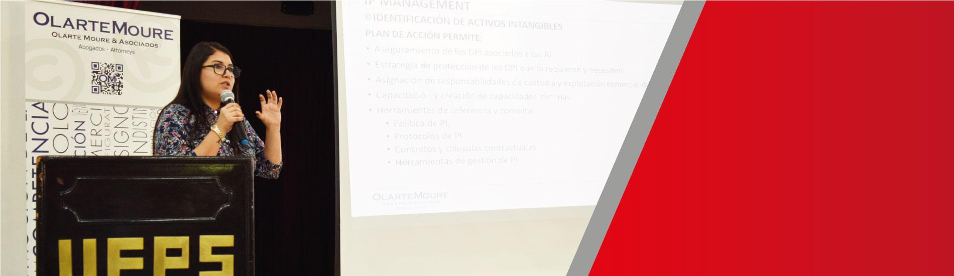 Generalidades y apropiación de la gestión de propiedad intelectual en Seminario UFPS