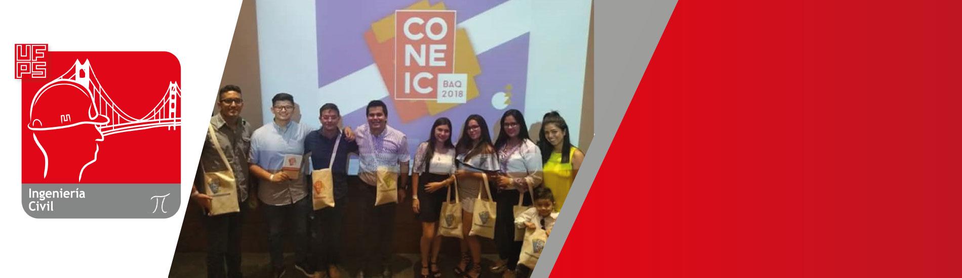 Representantes UFPS presentes en el XXVIII Congreso Nacional de Estudiantes de Ingeniería Civil
