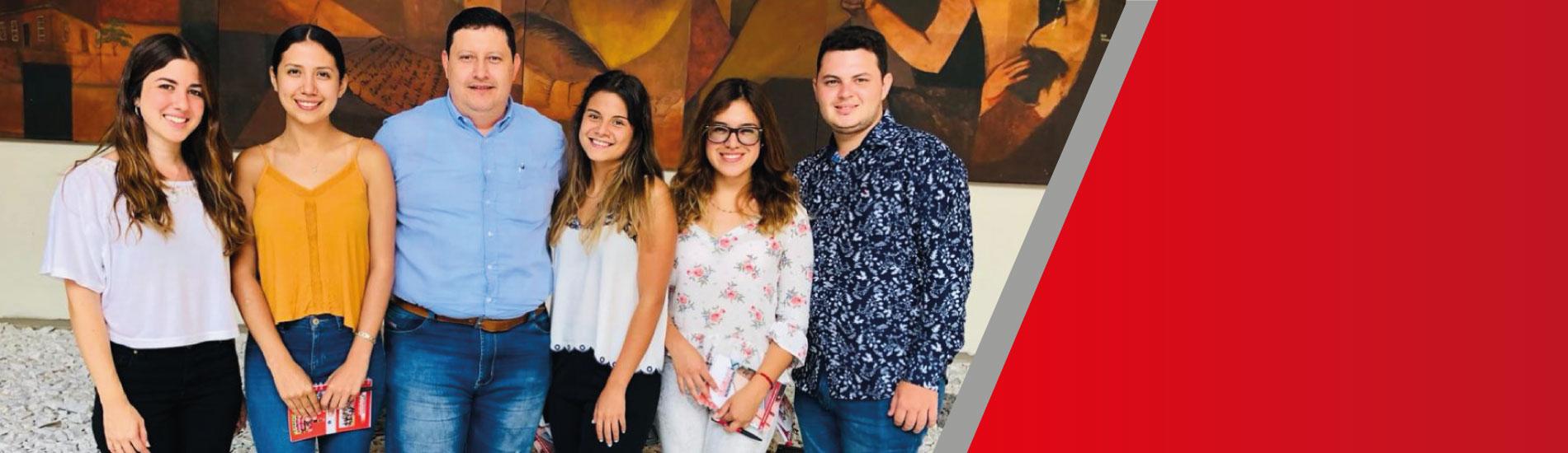 5 estudiantes extranjeros llegaron a la UFPS para complementar su formación académica