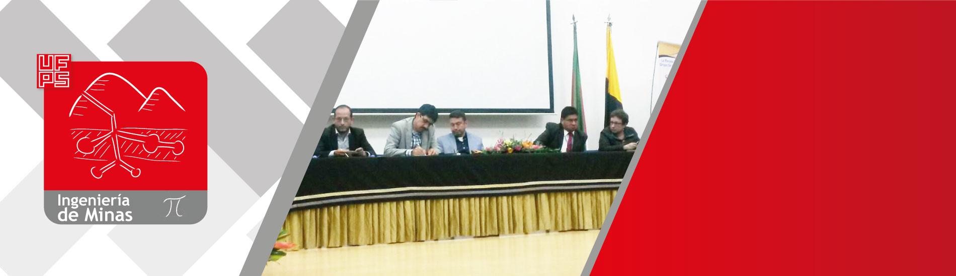 Docente UFPS presentó ponencia sobre responsabilidad social empresarial en la minería y su influencia en la obtención de licencias en Colombia